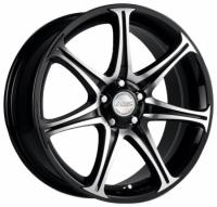 Литые диски Racing Wheels H-134 (BK-FP) 6.5x15 5x114.3  ET 45 Dia 67.1