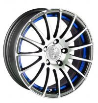 Литые диски Racing Wheels H-290 (DDN-IBL/FP) 7x16 5x114.3  ET 40 Dia 67.1