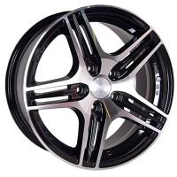 Литые диски Racing Wheels H-414 (BK-FP) 6.5x15 5x112  ET 35 Dia 66.6