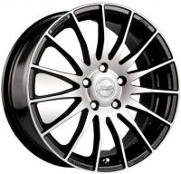 Литые диски Racing Wheels H-428 (BK-FP) 6.5x15 4x98  ET 35 Dia 58.6