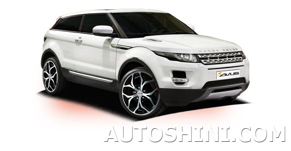 Land Rover Evoque на дисках Avus AC-MB2