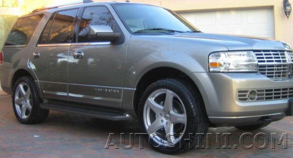 Lincoln Navigator на дисках OZ Racing Canyon ST