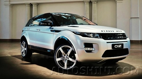 Land Rover Evoque на дисках OZ Racing Monaco