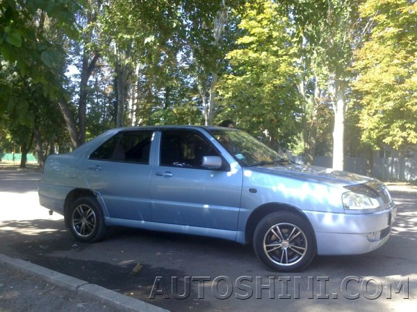 Chery Amulet на дисках Sportmax Racing 236