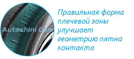 Плечевая зона Bridgestone Ecopia EP300
