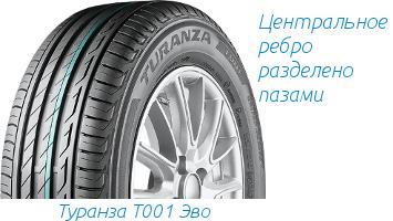 Протектор Bridgestone Turanza T001 evo