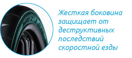 Боковина Dunlop Direzza 03G