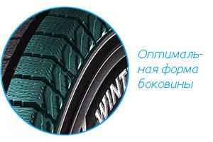 Боковина Dunlop Winter Maxx Sj8