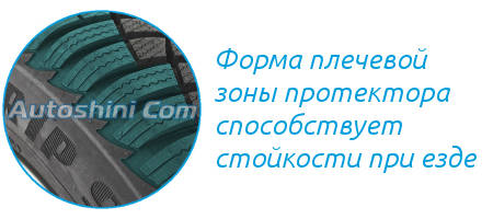 Плечевая зона Goodyear Ultra Grip 9