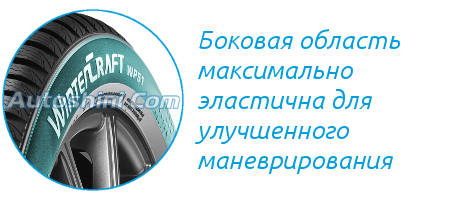 Боковины Kumho WinterCraft WP51