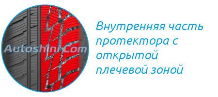 Внутрення часть протектора MP 92 Sibir Snow
