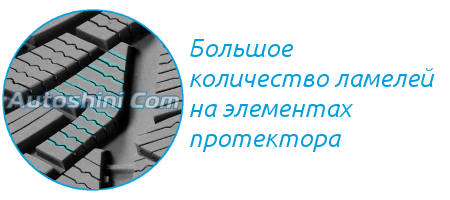 Ламели Michelin Pilot Alpin 4