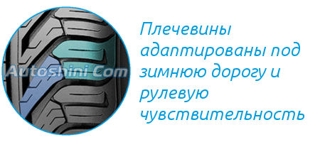 Плечевина шины Michelin Pilot Sport Plus A/S