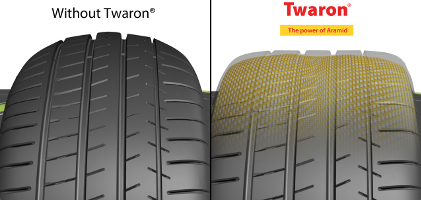 Использование технологии Twaron в Michelin Pilot Super Sport