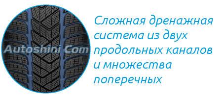 Дренажная система Пирелли Скорпион Винтер