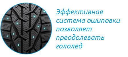 Шипы шины Riken SUV Stud