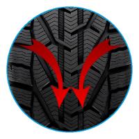 Направленность протектора Taurus SUV Winter