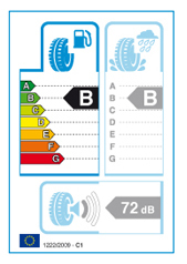 Эффективность расхода топлива согласно EU Tyre Label