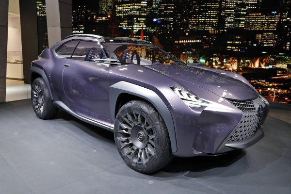 Goodyear Urban CrossOver — концептуальная шина для  Lexus UX Concept