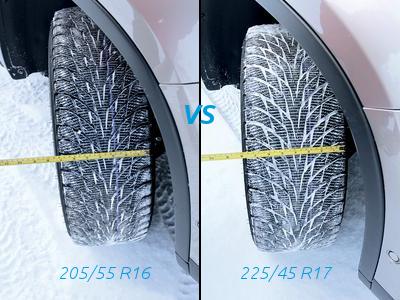 узкие или широкие шины? Хакапелита Р2