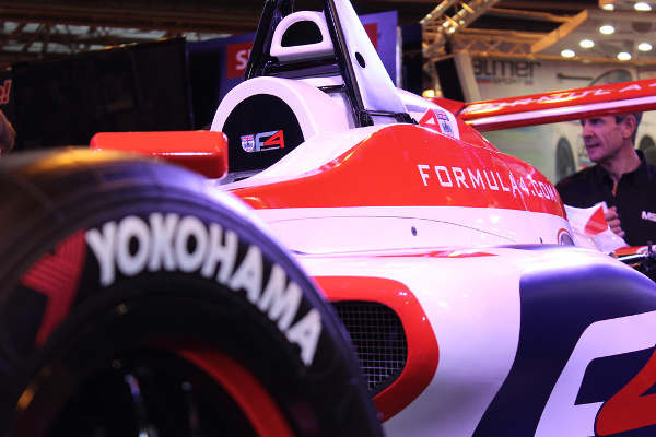 Yokohama представляет публике три новинки на Autosport International