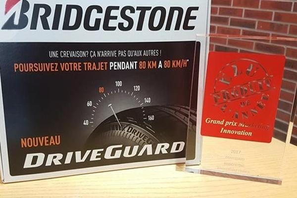 Bridgestone DriveGuard — продукт года во Франции
