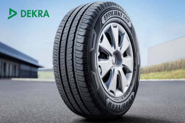 Тестирование шины Goodyear EfficientGrip Cargo от DEKRA