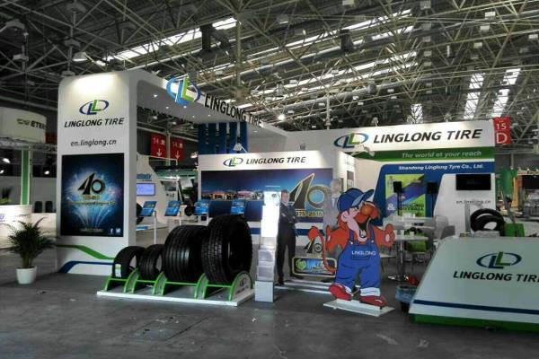 Linglong на выставке Autopromotec
