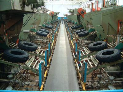 шинный завод в Китае