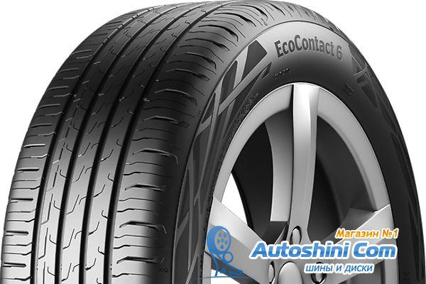 Обзор летней шины Continental EcoContact 6