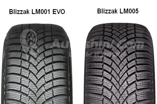 Протектор зимней шины Blizzak LM005